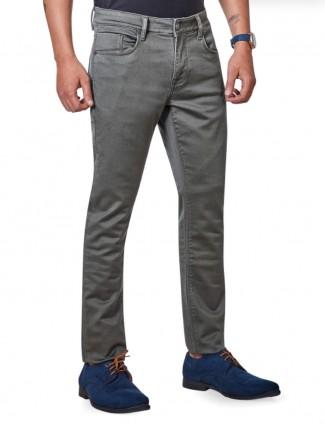 Dragon Hill dark grey solid jeans
