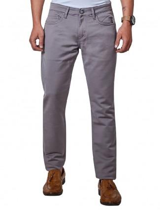 Dragon Hill denim slim fit grey jeans