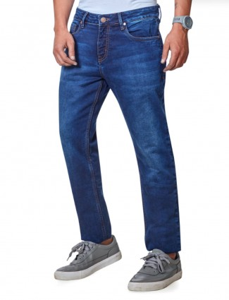 Dragon Hill presented blue solid jeans