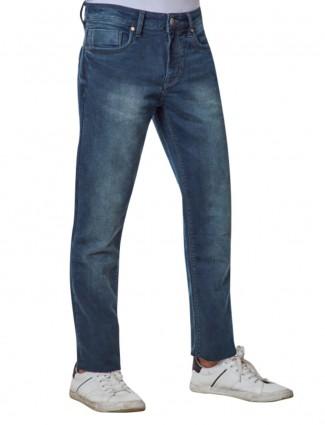 Dragon Hill solid blue denim jeans
