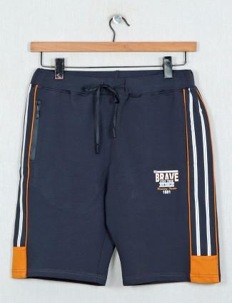 DXI grey cotton night shorts