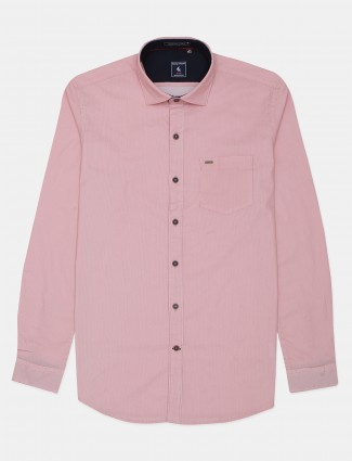 Eqiq pink stripe shirt for mens