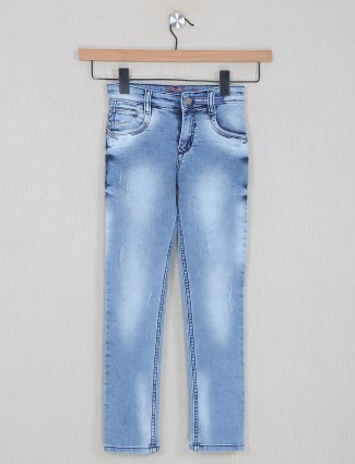 Forway blue washed denim for casual style