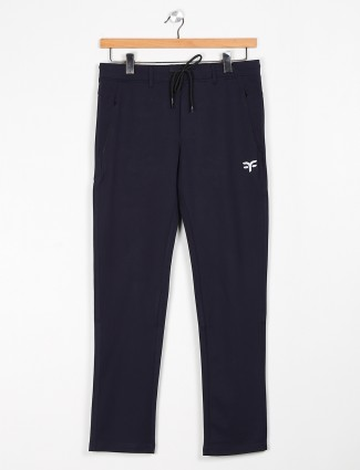 Freeze navy color printed track pant