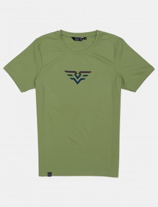 Freeze presented solid green t-shirt