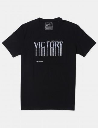 Fritzberg black cotton t-shirt