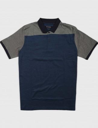 Fritzberg blue hued mens t-shirt