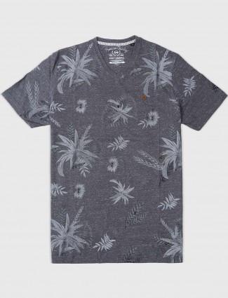 Fritzberg casual mens grey t-shirt