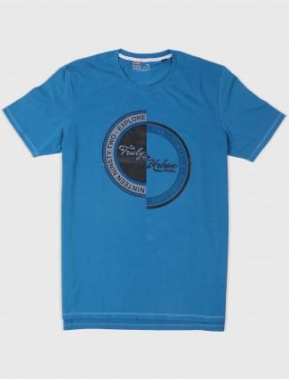 Fritzberg mens blue t-shirt