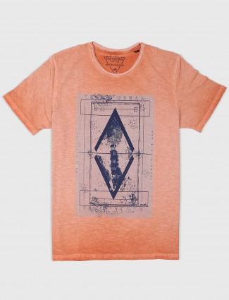 Fritzberg presented peach color t-shirt