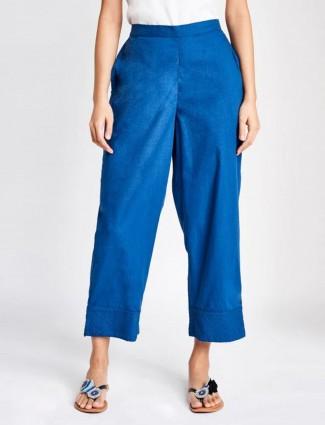 Global Desi blue poly cotton bottom