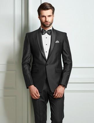 Grey party wear mens coat suit