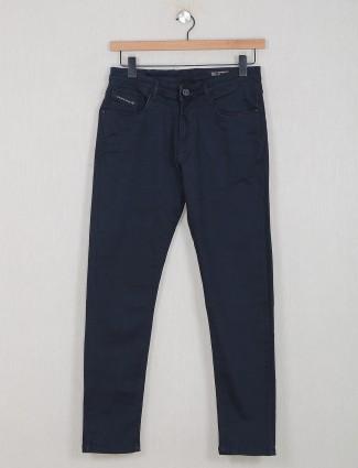 GS78 black washed denim slim fir jeans