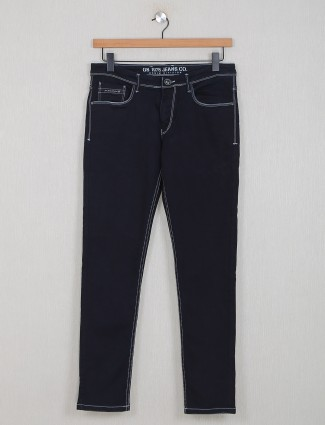 GS78 black washed effect jeans