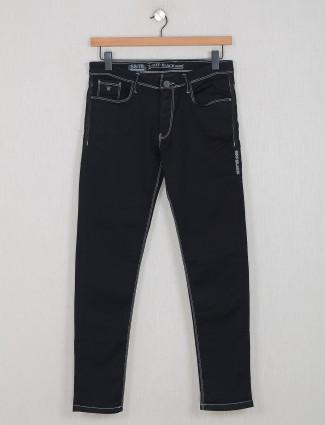GS78 slim fit black washed jeans