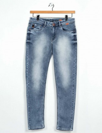 GS78 slim fit grey washed jeans