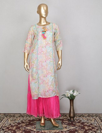 Iconic festive wear sharara suit for women