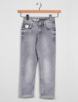 Jacktailor slimfit for boys in grey shade
