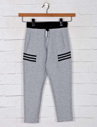 Jappkids grey solid payjama