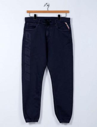 Killer comfort fit blue cotton joggers pant