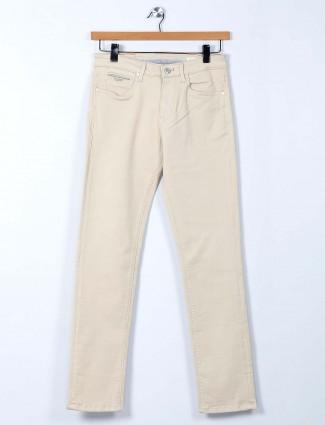 Killer cream slim fit jeans