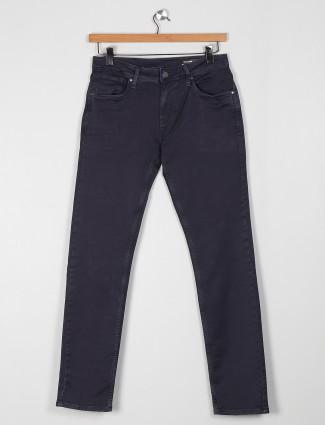 Killer solid charcoal grey super slim fit jeans