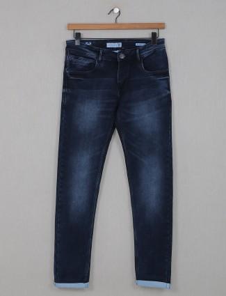 Kozzak super slim fit dark blue jeans