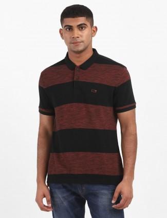 Levis black stripe mens solid polo t-shirt