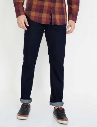 Levis navy denim 511 slim fit mens jeans