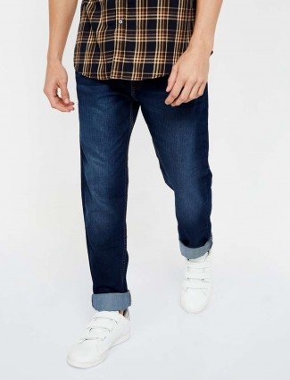 Levis navy washed 511 slim fit jeans