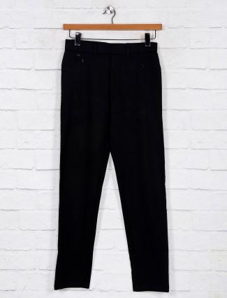 Maml comfort wear black track pant