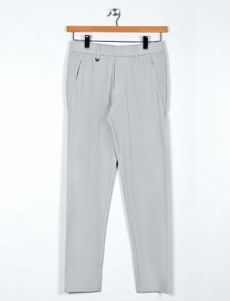 Maml light grey cotton night wear payjama