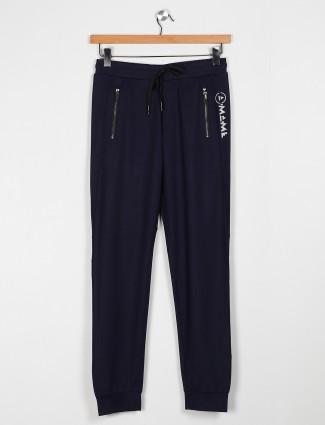 Maml navy solid mens payjama