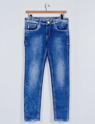 MD Sword presented blue washed jeans