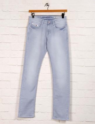 Nostrum presented washed grey jeans