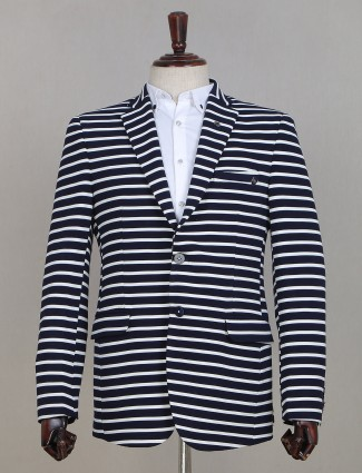 Party wear blue shade blazer for mens