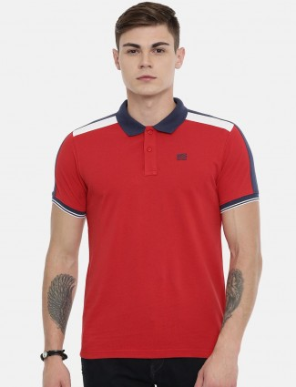 Pepe Jeans casual wear red t-shirt