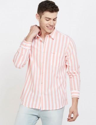 Pepe Jeans light pink stripe shirt