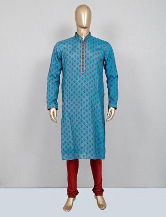 Printed rama gree festive wear kurta suit