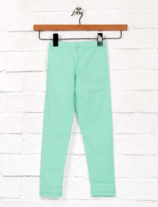 Pro Energy sea green cotton casual jeggings
