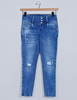 Recap blue jeans for women in casual style