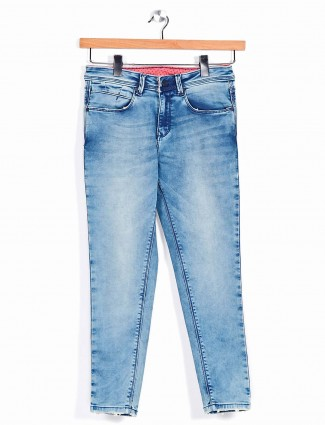 Recap blue ripped jeans for women