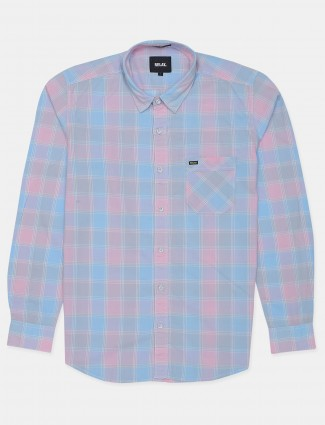 Relay chexs shirt for men in printed style