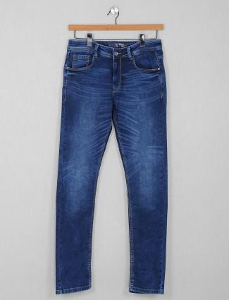 Rex Straut slim fit blue casual wear jeans