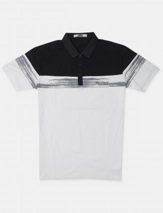 Rex Straut white cotton t-shirt