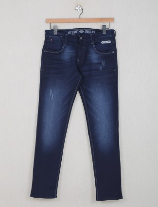 Rexstraut blue denim for casual wear