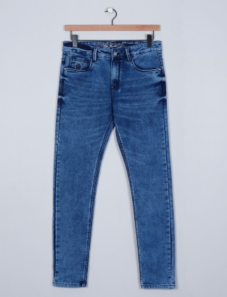 Rexstraut denim blue slim fit Jeans