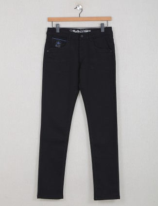 Rexstraut slim fit casual washed black