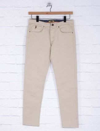 Six Element solid cream hued trouser