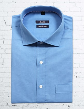 TAG blue color formal shirt
